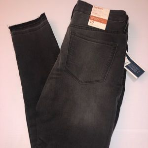 Old Navy mid rise rockstar skinny in black